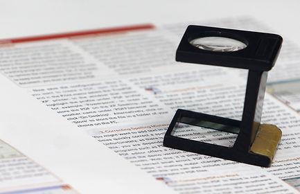 edición de un texto manuscrito articulo cientifíco