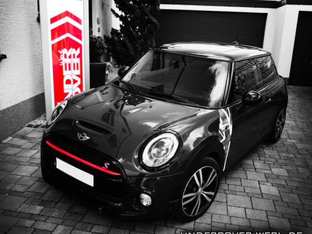 BLACKLINE Folierung MINI COOPER