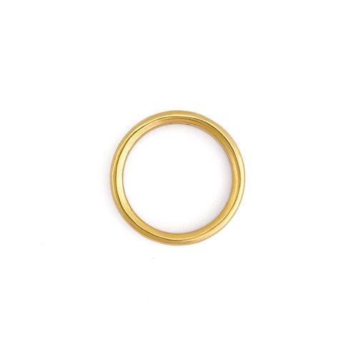 plain ring - K18YG/2.8mm