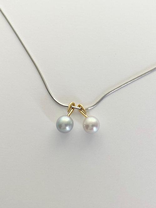 NECK PIECE - albireo(akoya pearl)