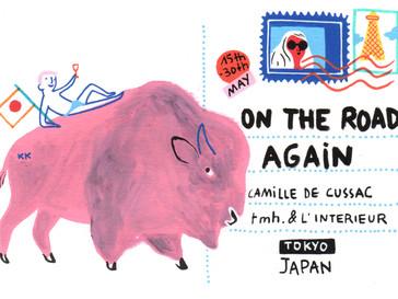 "Exhibition - Camille De Cussac ""On The Road Again"""