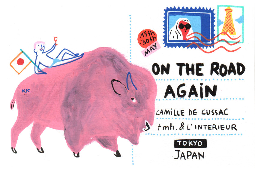"Camille De Cussac ""On The Road Again"""