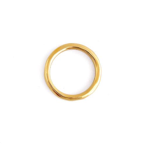 plain ring - K18YG/2.5mm