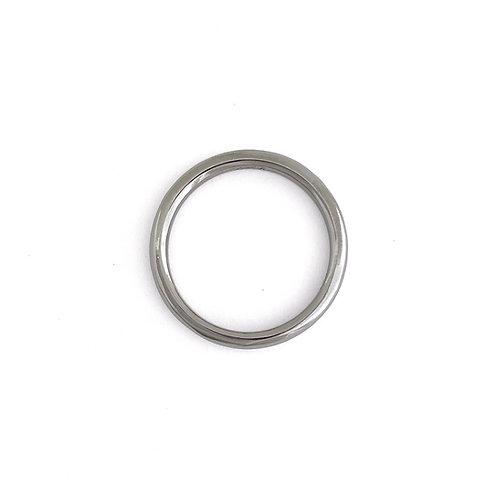 plain ring - K18WG/2.5mm