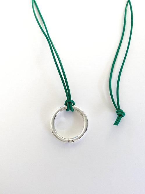 ouroboros  Tying ring-Pendant