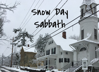 Snow-Day Sabbath