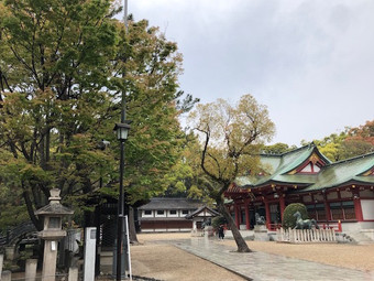 西宮神社へ参拝