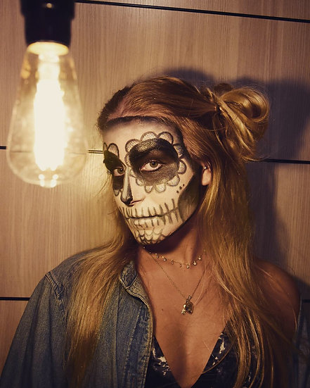 Halloween Makeup (Photoshoot Included!)