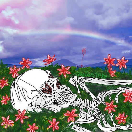 """""""Resting in Love"""" Poster Print"""
