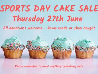 Sports Day Cake Sale