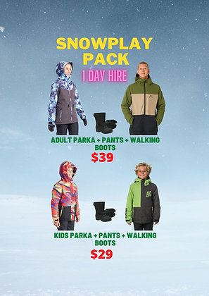 Super Snowplay Pack (Clothing)