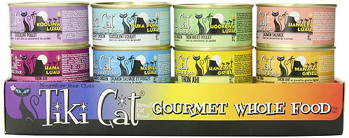 Tiki Cat Gourmet Whole Food 12-Pack Queen Emma Variety Pet Food