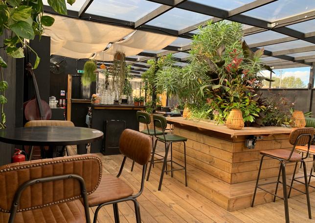 CLF Art Lounge X Hennessy Roof Garden