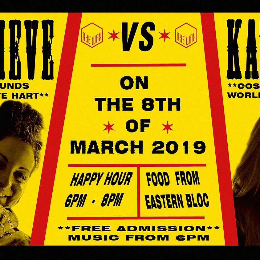 Genevieve Vs Kathryn :: HAPPY HOUR Madness