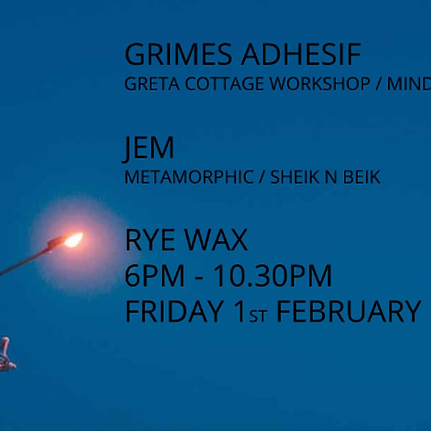 JEM + Grimes Adhesif
