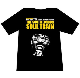 South London Soul Train T-Shirts On-Sale Now