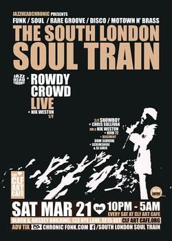 Sat Mar 21 - South London Soul Train