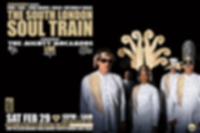 Sat Feb 29 - The South London Soul Train with The Mighty Mocambos (Live) + More
