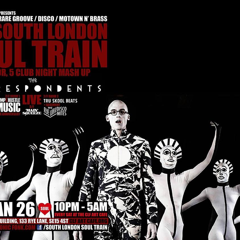 The South London Soul Train Club Night Mashup w/Correspondents