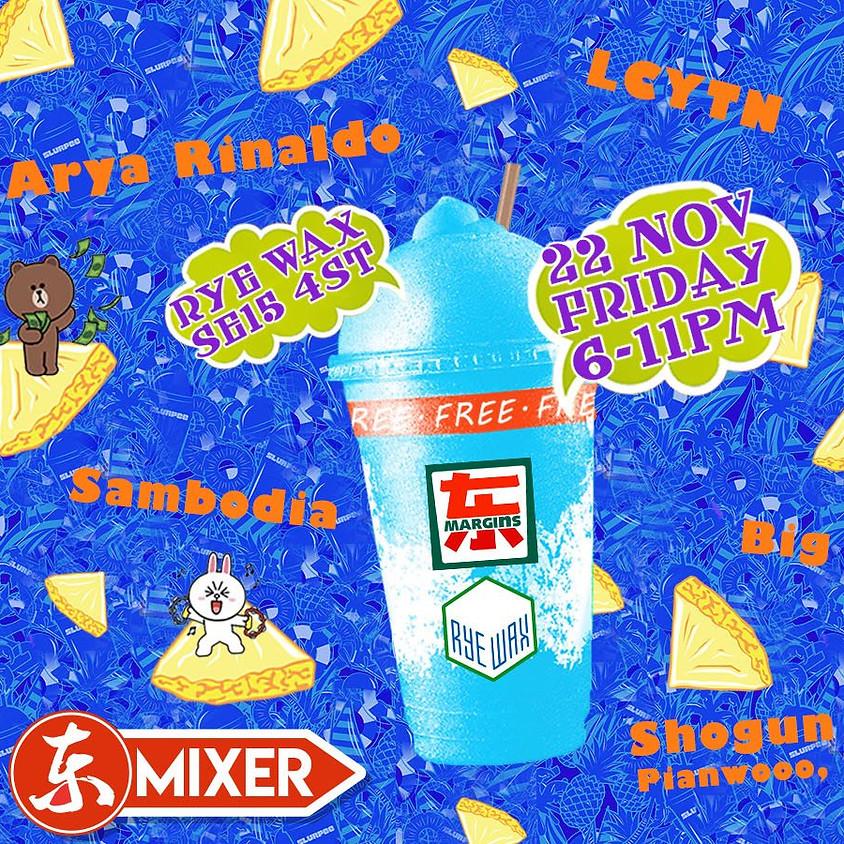 Eastern Margins Mixer: Akito, Lila Yin, LCYTN, Shogun Triad +