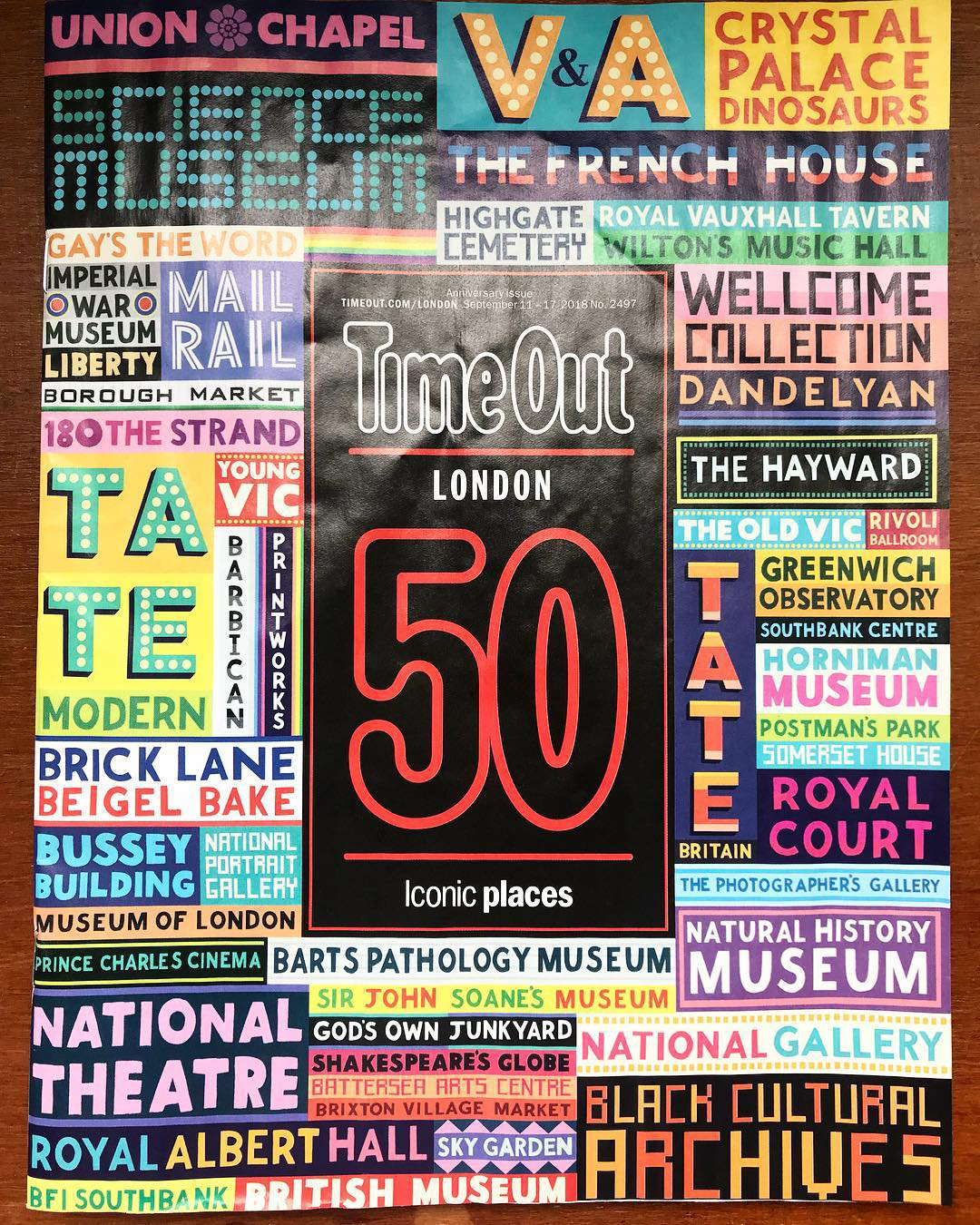 Time Out 50 Iconic London Places