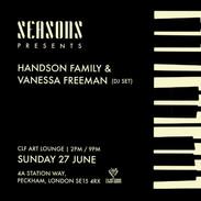 Sun Jun 27 - Seasons Summer (Part 1) with The Handson Family + Friends