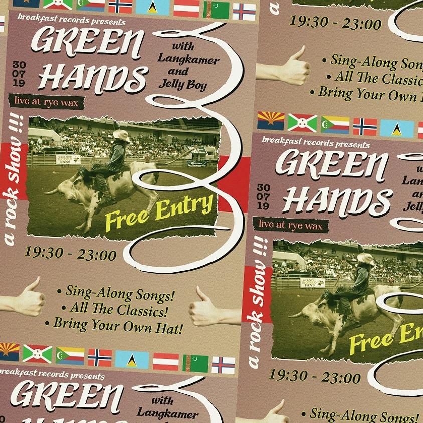 Breakfast Records presents: Green Hands, Langkamer & Jelly Boy