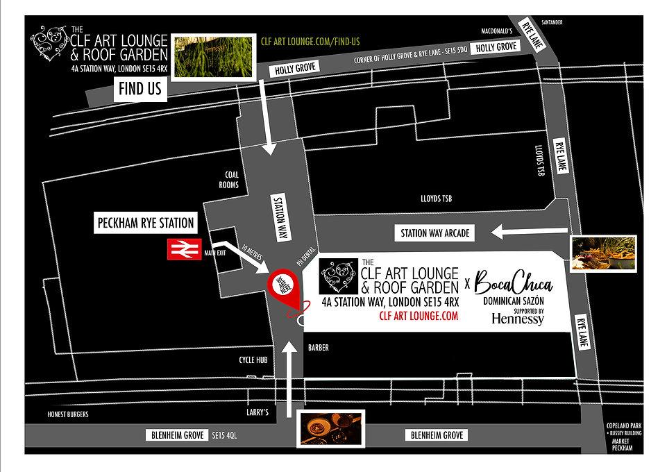 Clf Art Lounge & Roof Garden Location, Peckham SE15 4RX