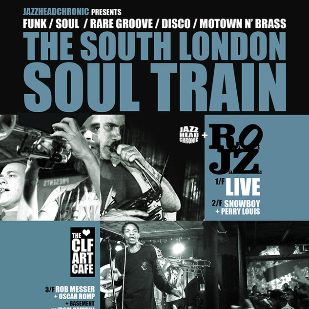 Sat Jan 05 - South London Soul Train
