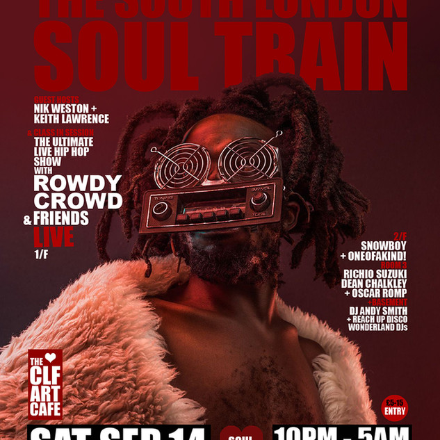 Sat Sep 14 - South London Soul Train