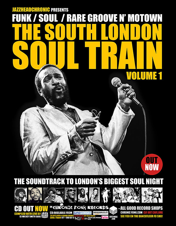 The Soundtrack to London's biggest soul night