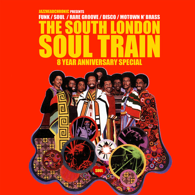 South London Soul Train turned 8 - 2019