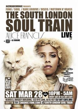 Sat Mar 28 - South London Soul Train