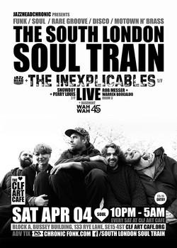Sat Apr 04 - South London Soul Train