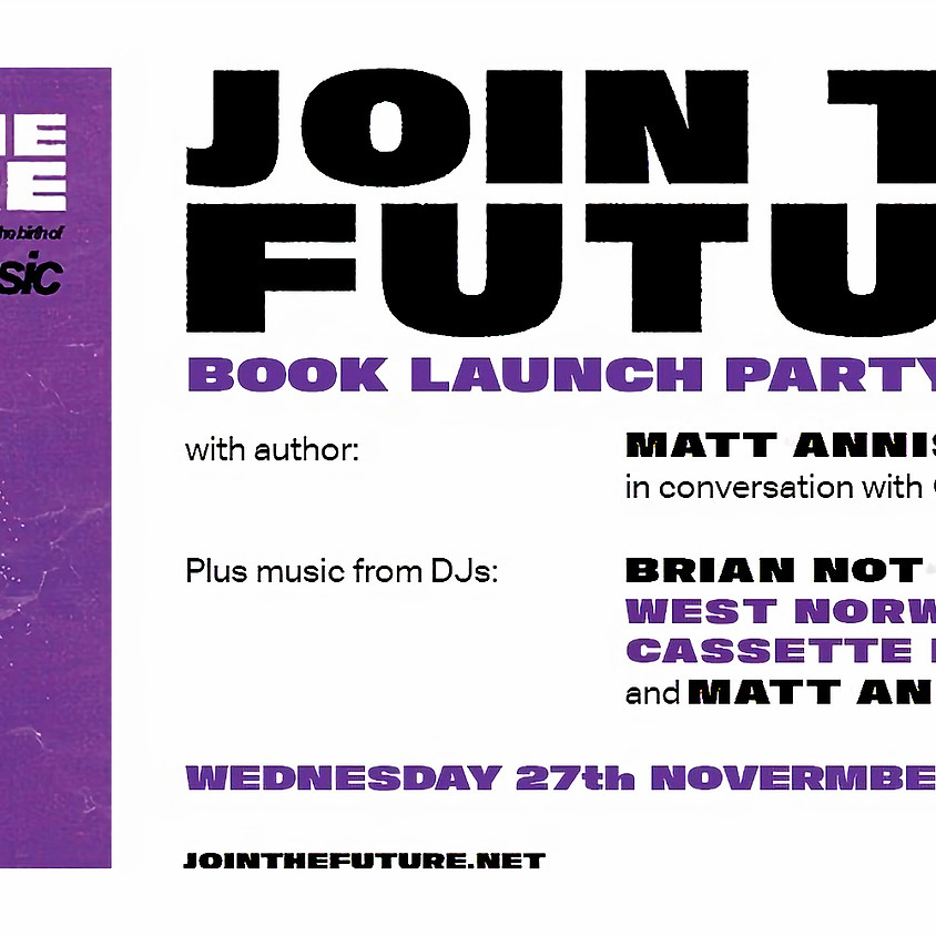 Join The Future book launch party