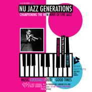 Weds Oct 20 - Nu Jazz-Generations (Every Weds)