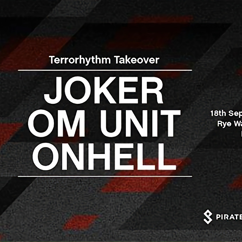 Pirate Studios x Terrorhythm | Free Entry