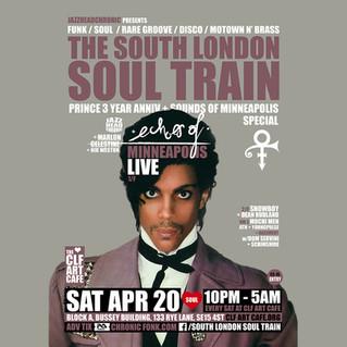 Sat Apr 20 -The South London Soul Train