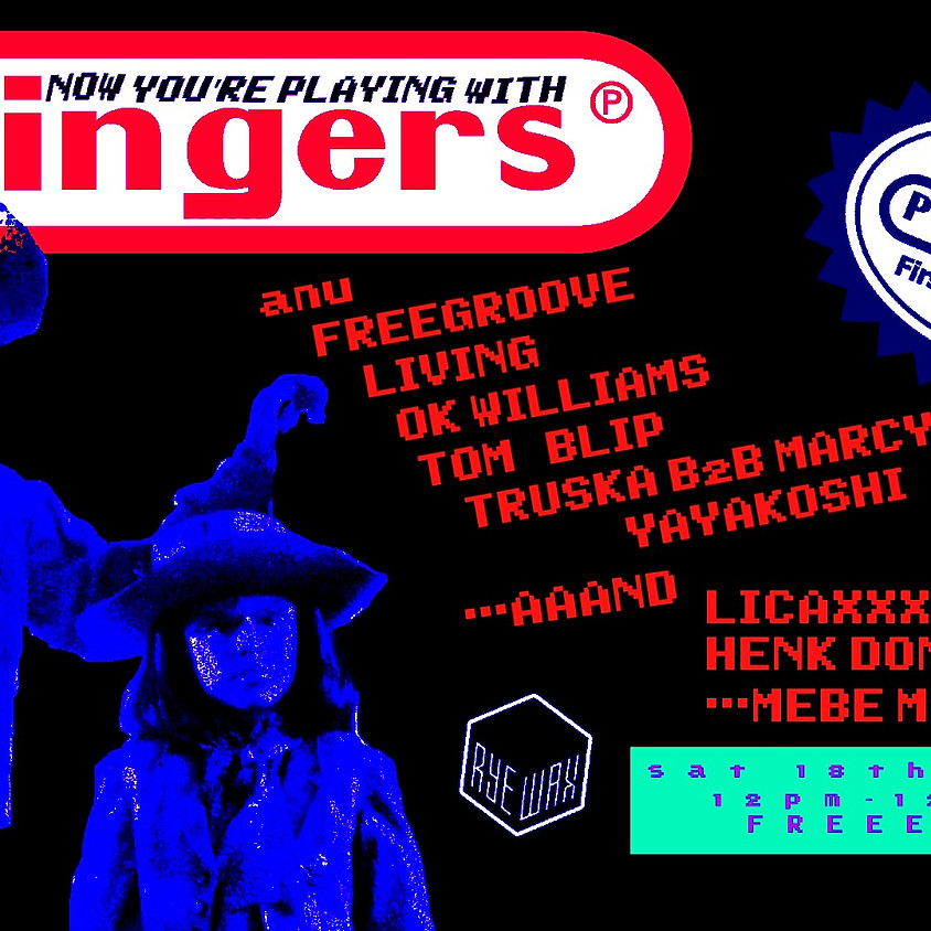 Pingers is One! anu Tom Blip OK Williams Licaxxx + More