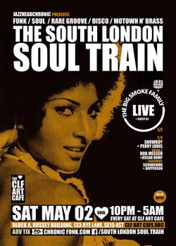 Sat May 02 - South London Soul Train