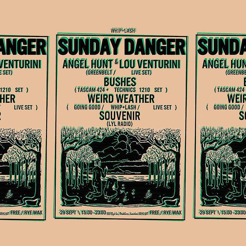 W+L Sunday Danger: Bushes, Souvenir, Weird Weather and Greenbelt
