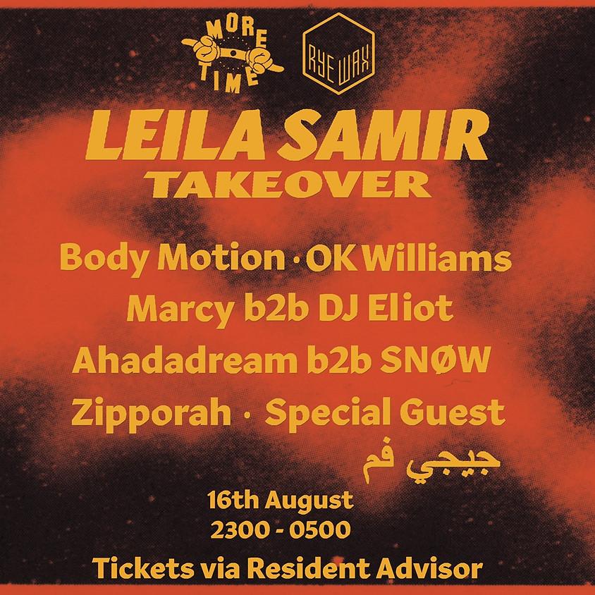 More Time Records: Leila Samir Takeover