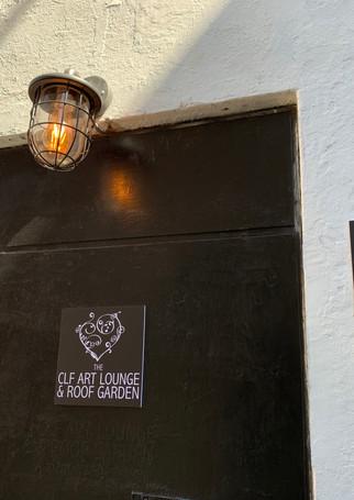 CLF Art Lounge & Roof Garden Entrance