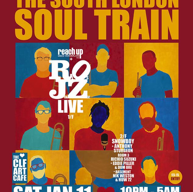 Sat Jan 11 - SLST w/Riot Jazz (Live)