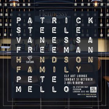 Sun Oct 31 - Halloween Special with Patrick Steele, Handson Family + Vanessa Freeman (DJ Set)