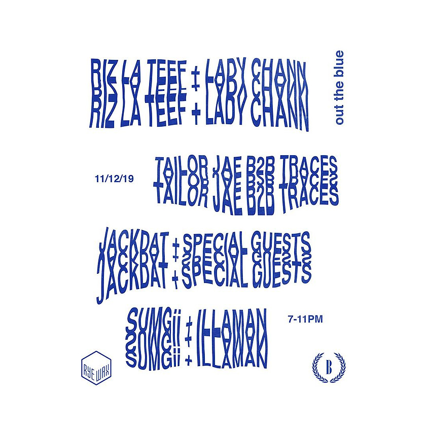 Balamii Presents: Out Of The Blue with Riz La Teef + Friends