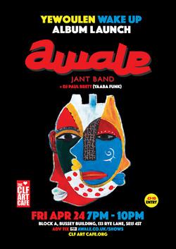Fri Apr 24 - Awale Album launch