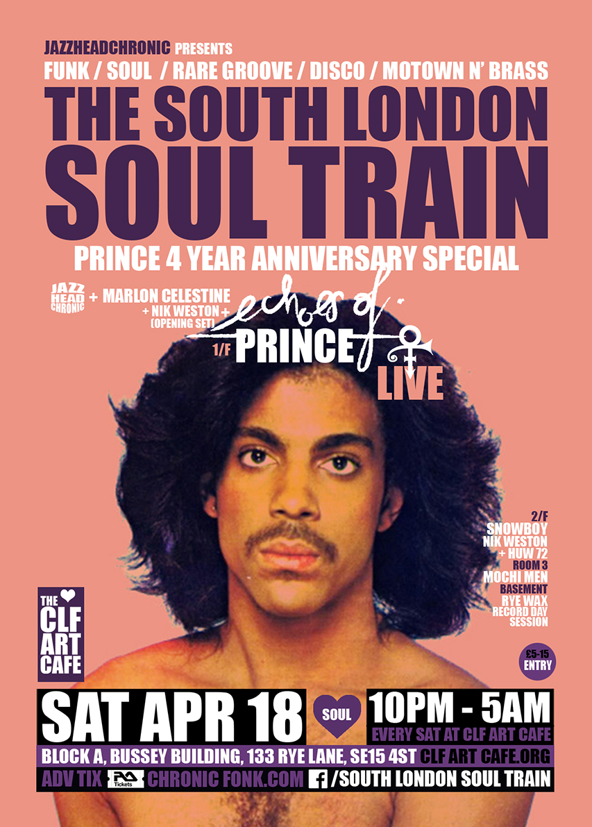 Sat Apr 18 - South London Soul Train