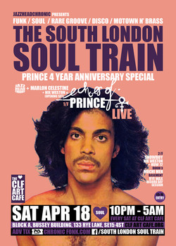 Sat Apr 18 - South London Soul Train