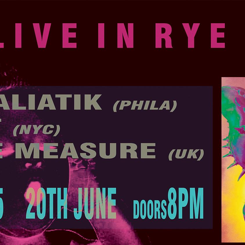 Rye Wax Live with Qualiatik, LST, Eye Measure